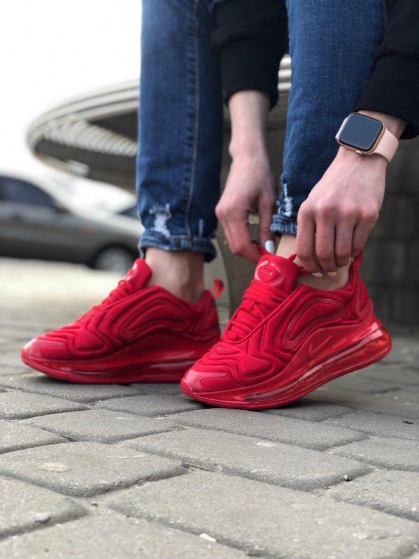 Шикарные кроссовки nike air max 720 red (мужские/ женские), (в... - Фото 5
