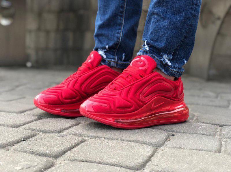 Шикарные кроссовки nike air max 720 red (мужские/ женские), (в... - Фото 6