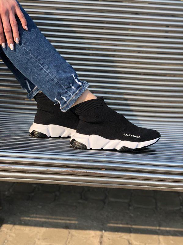 Шикарные хайповые кроссовки носки и подошвой 😍 (весна/ лето/ о...