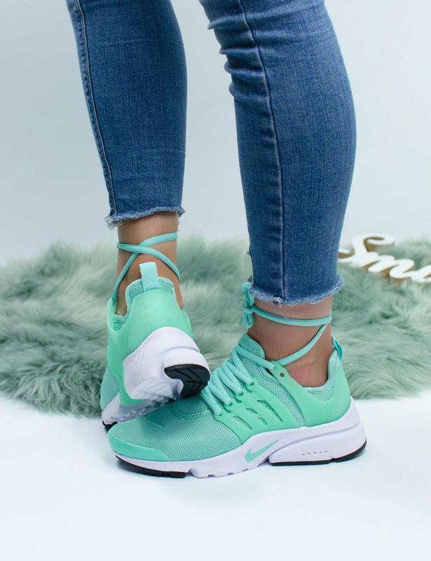 Шикарные женские кроссовки nike air presto green 😍 (весна/ лет...