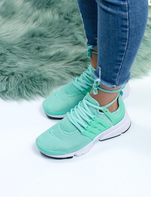 Шикарные женские кроссовки nike air presto green 😍 (весна/ лет... - Фото 3