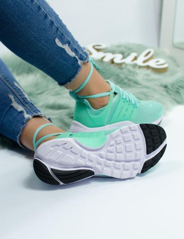 Шикарные женские кроссовки nike air presto green 😍 (весна/ лет... - Фото 5