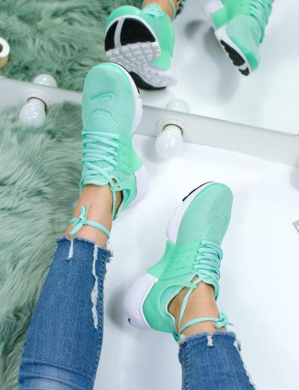 Шикарные женские кроссовки nike air presto green 😍 (весна/ лет... - Фото 6