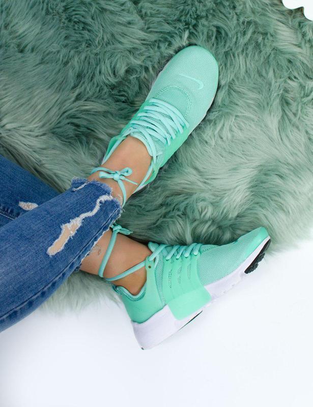 Шикарные женские кроссовки nike air presto green 😍 (весна/ лет... - Фото 7