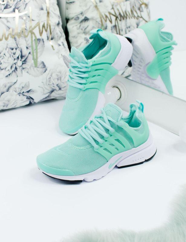 Шикарные женские кроссовки nike air presto green 😍 (весна/ лет... - Фото 8