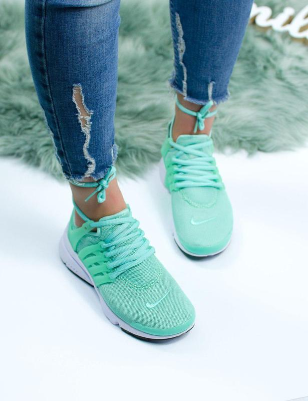 Шикарные женские кроссовки nike air presto green 😍 (весна/ лет... - Фото 9
