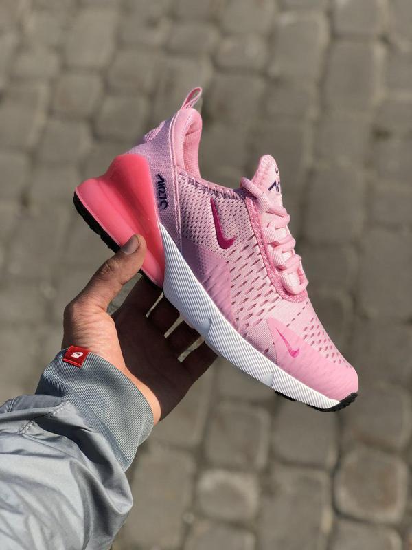 Акция!!! шикарные женские кроссовки nike air max 270 pink 😍 (в...