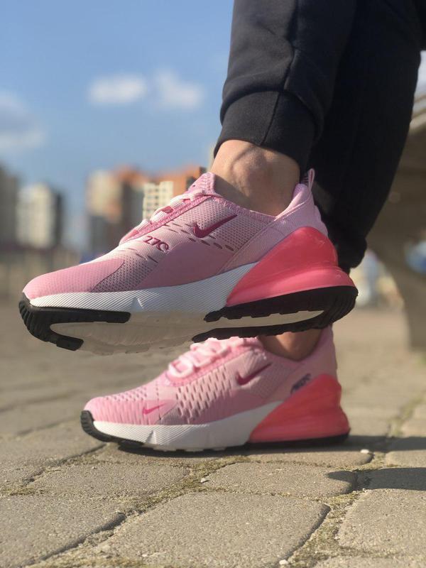 Акция!!! шикарные женские кроссовки nike air max 270 pink 😍 (в... - Фото 2