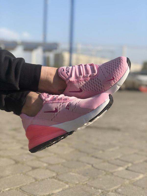 Акция!!! шикарные женские кроссовки nike air max 270 pink 😍 (в... - Фото 3