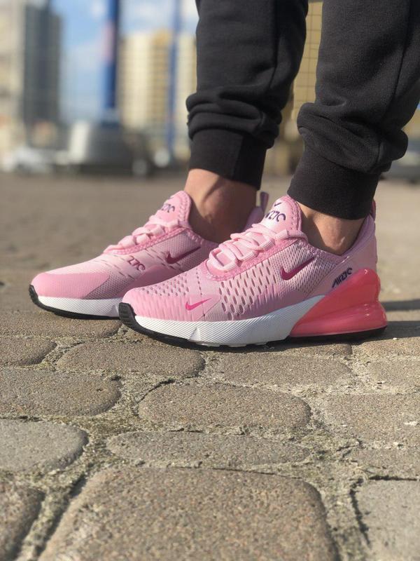 Акция!!! шикарные женские кроссовки nike air max 270 pink 😍 (в... - Фото 4