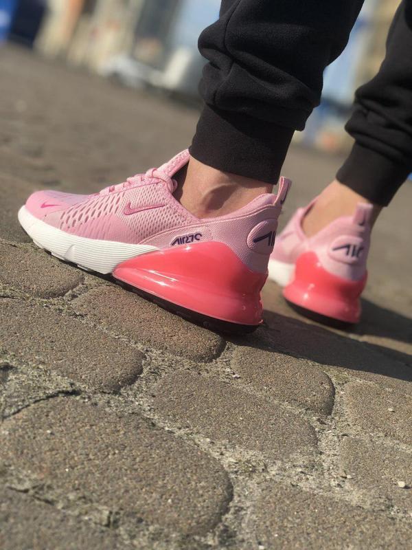 Акция!!! шикарные женские кроссовки nike air max 270 pink 😍 (в... - Фото 6