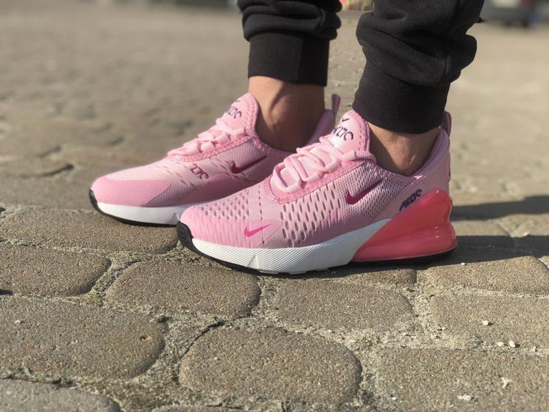 Акция!!! шикарные женские кроссовки nike air max 270 pink 😍 (в... - Фото 7