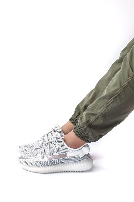 Шикарные женские кроссовки adidas yeezy boost 350 static 😍 (ве... - Фото 3