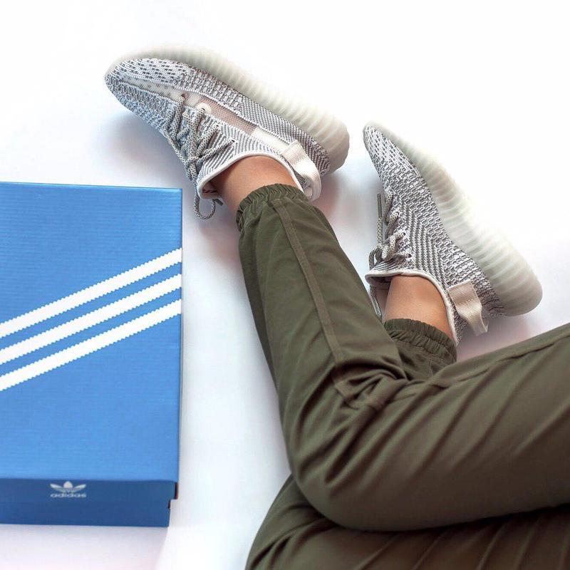 Шикарные женские кроссовки adidas yeezy boost 350 static 😍 (ве... - Фото 7