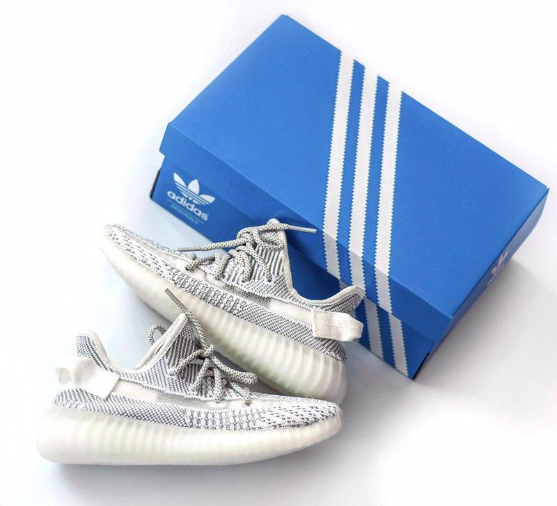 Шикарные женские кроссовки adidas yeezy boost 350 static 😍 (ве... - Фото 8