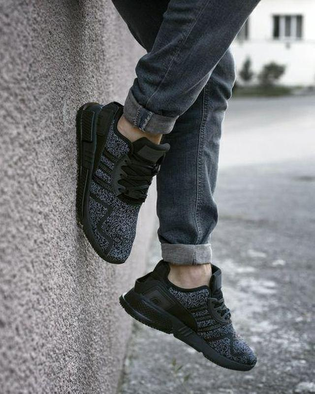 Шикарные мужские кроссовки adidas eqt cushion adv black 😍 (вес... - Фото 2