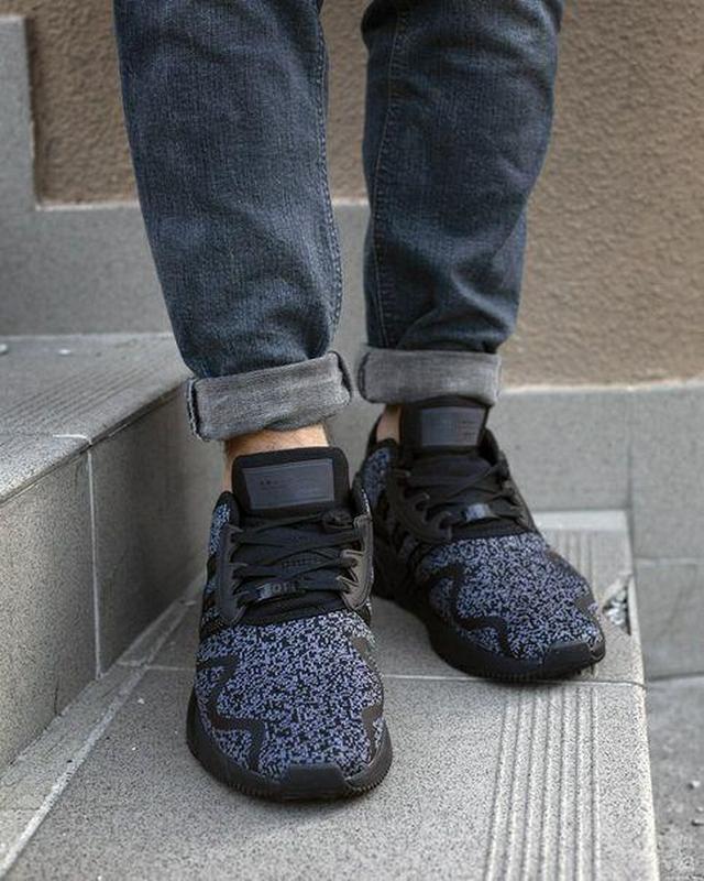Шикарные мужские кроссовки adidas eqt cushion adv black 😍 (вес... - Фото 3