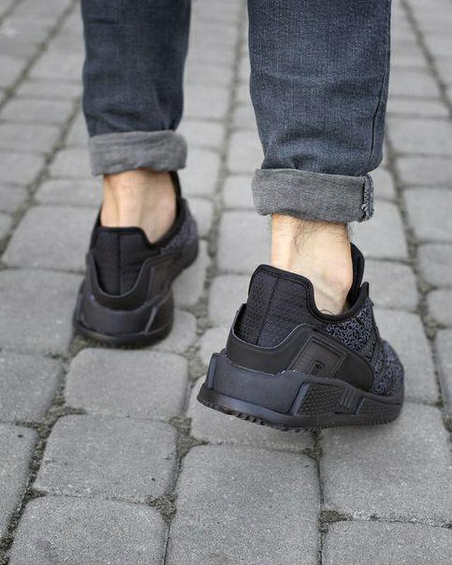 Шикарные мужские кроссовки adidas eqt cushion adv black 😍 (вес... - Фото 4