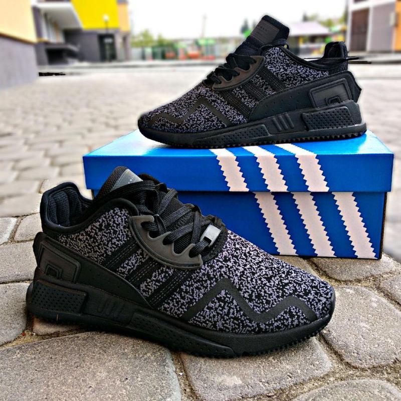 Шикарные мужские кроссовки adidas eqt cushion adv black 😍 (вес... - Фото 5