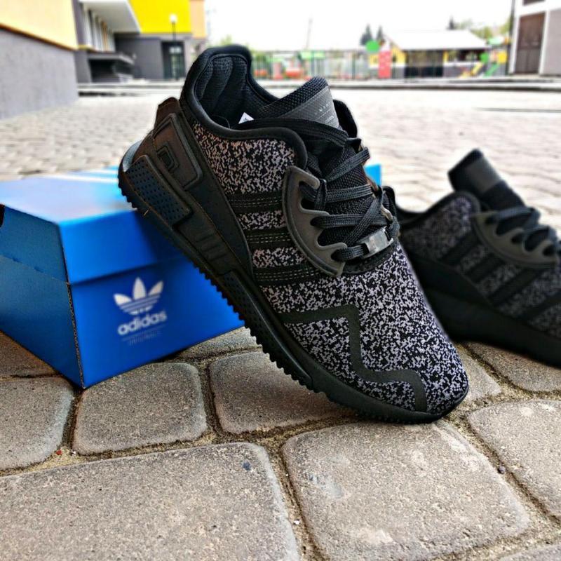 Шикарные мужские кроссовки adidas eqt cushion adv black 😍 (вес... - Фото 6
