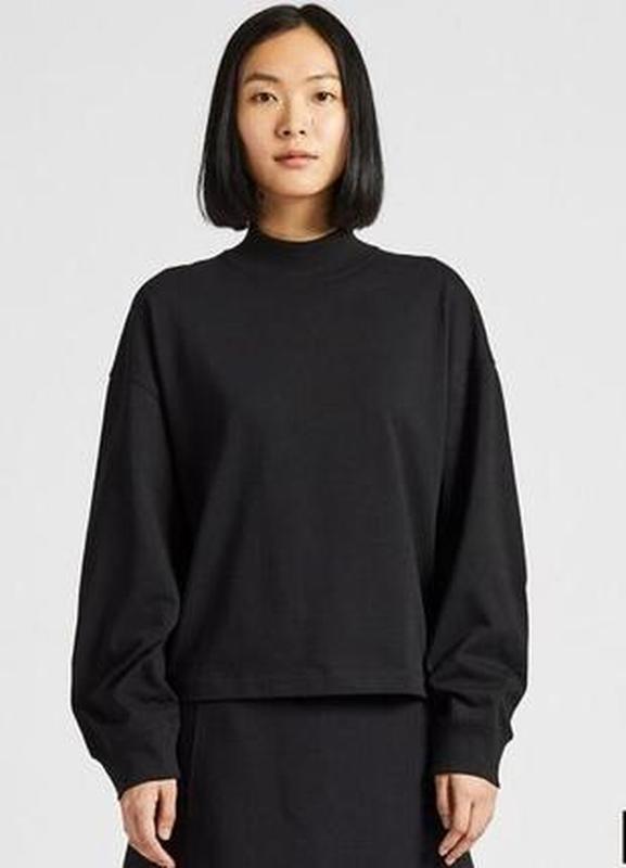 Женская футболка с длинным рукавом uniqlo