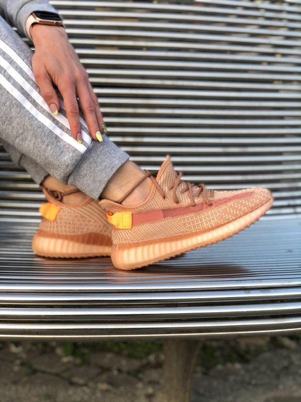 Шикарные кроссовки adidas yeezy 350 v2 😍 (весна/ лето/ осень),... - Фото 7