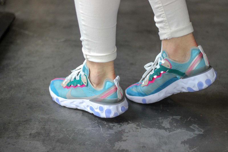 Шикарные женские кроссовки nike react element 87 royal tint bl... - Фото 8