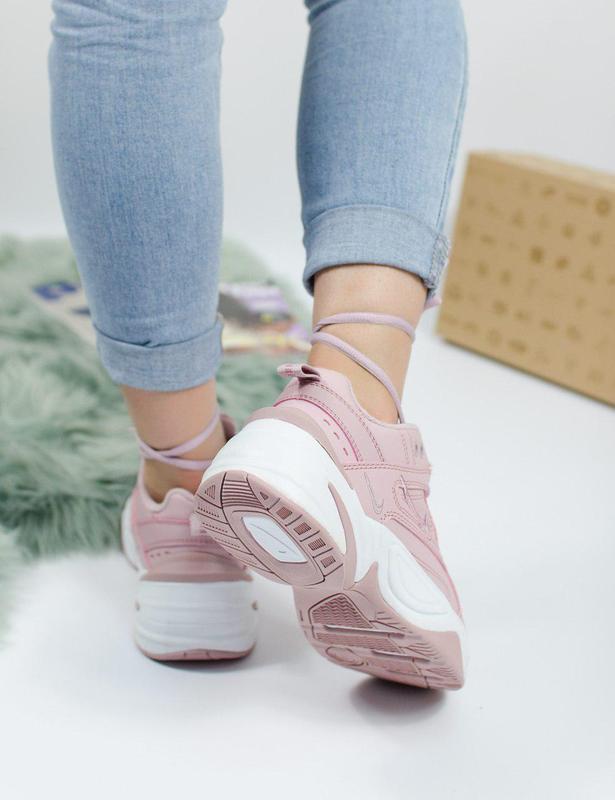 Шикарные женские кроссовки nike m2k tekno pink 😍 (весна/ лето/... - Фото 3