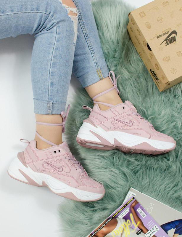 Шикарные женские кроссовки nike m2k tekno pink 😍 (весна/ лето/... - Фото 5