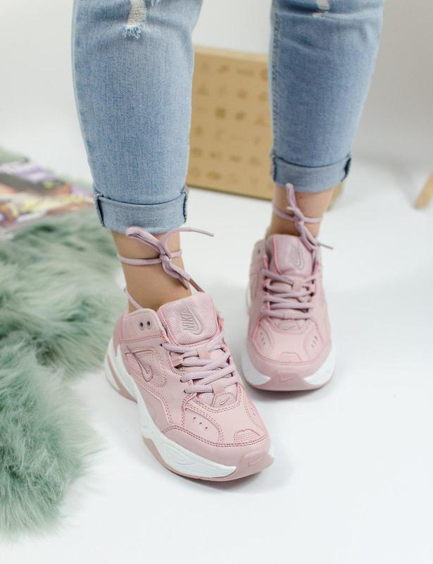 Шикарные женские кроссовки nike m2k tekno pink 😍 (весна/ лето/... - Фото 6