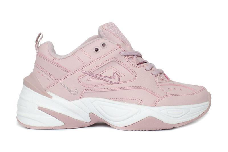 Шикарные женские кроссовки nike m2k tekno pink 😍 (весна/ лето/... - Фото 7