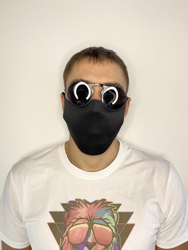Цельная маска без шва - Фото 3