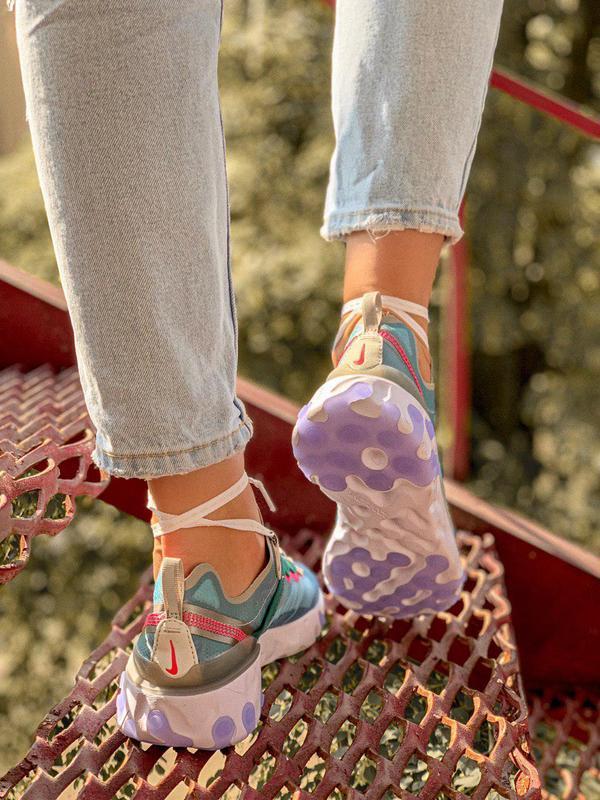 Шикарные женские кроссовки nk react element 87 royal tint 😍 (в... - Фото 3