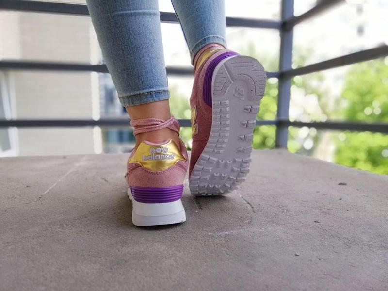 Шикарные женские кроссовки new balance pink 😍 (весна/ лето/ ос... - Фото 3