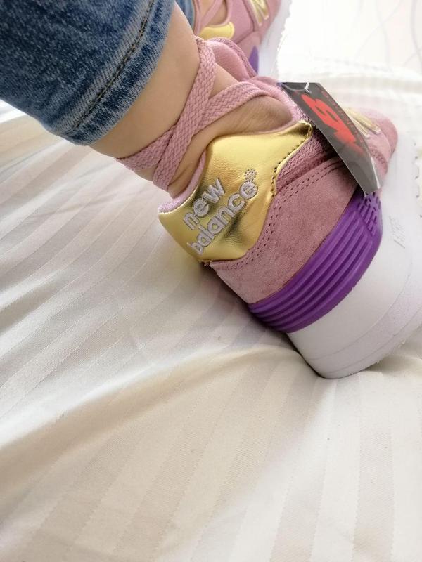 Шикарные женские кроссовки new balance pink 😍 (весна/ лето/ ос... - Фото 4
