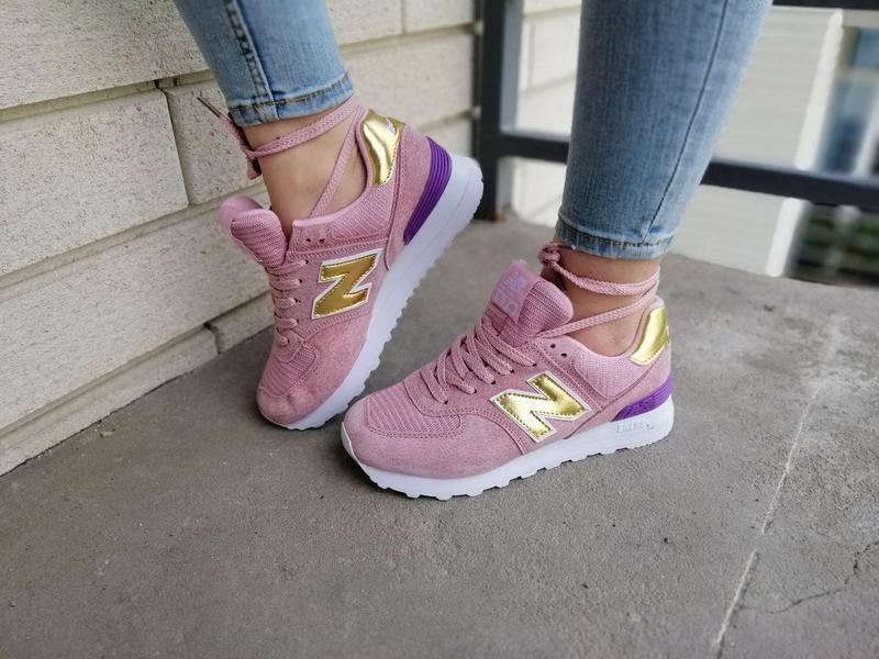 Шикарные женские кроссовки new balance pink 😍 (весна/ лето/ ос... - Фото 5