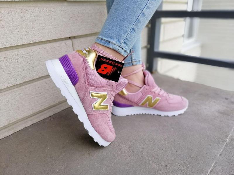 Шикарные женские кроссовки new balance pink 😍 (весна/ лето/ ос... - Фото 6