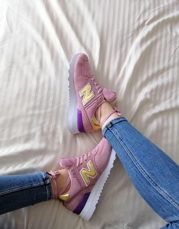 Шикарные женские кроссовки new balance pink 😍 (весна/ лето/ ос... - Фото 10