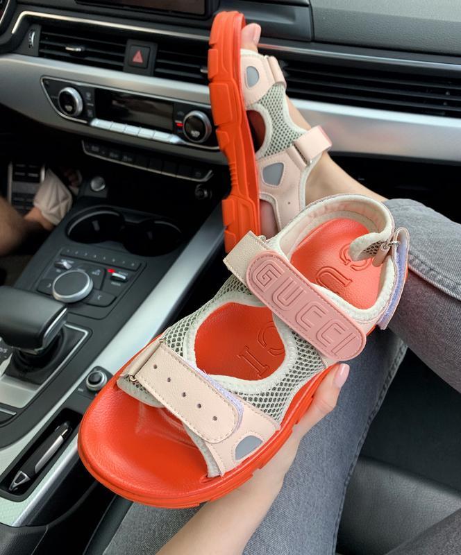 Шикарные женские летние хайповые сандали/ босоножки на платфор... - Фото 2