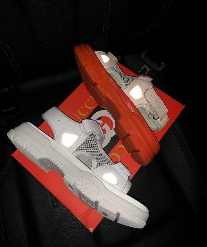 Шикарные женские летние хайповые сандали/ босоножки на платфор... - Фото 6