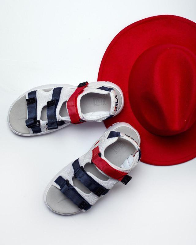Шикарные топовые женские босоножки fila sandal 😍 (сандалии) - Фото 2