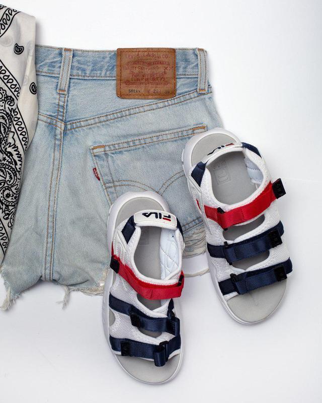 Шикарные топовые женские босоножки fila sandal 😍 (сандалии) - Фото 4