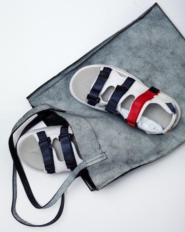 Шикарные топовые женские босоножки fila sandal 😍 (сандалии) - Фото 7