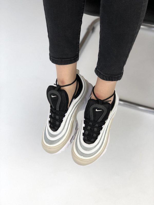 Шикарные женские кроссовки nike air max vapormax 95 orewood 😍 ... - Фото 2