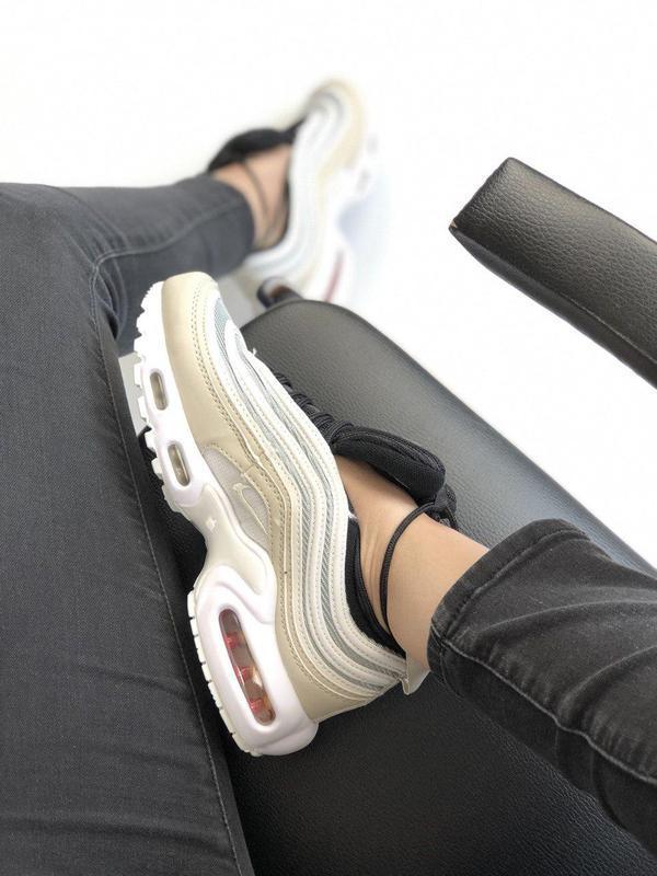 Шикарные женские кроссовки nike air max vapormax 95 orewood 😍 ... - Фото 3