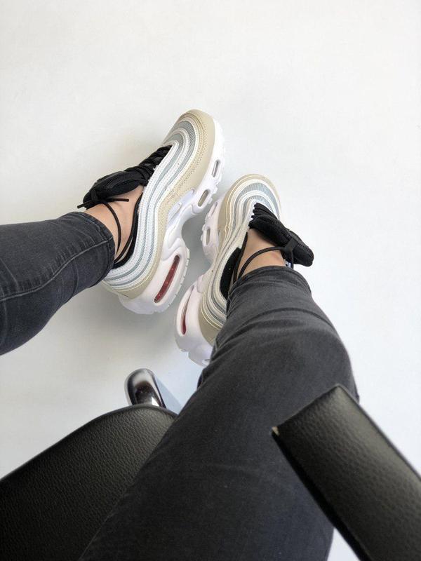 Шикарные женские кроссовки nike air max vapormax 95 orewood 😍 ... - Фото 4