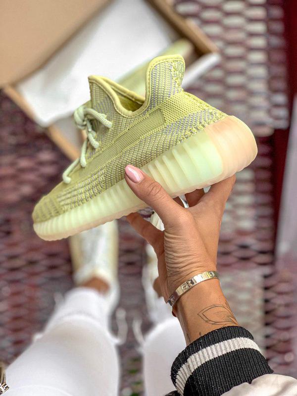 Шикарные женские кроссовки adidas yeezy boost 350 v2 antila 😍 ... - Фото 2