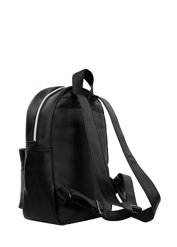 Надежный мужской стильный черный рюкзак для универа - Фото 2