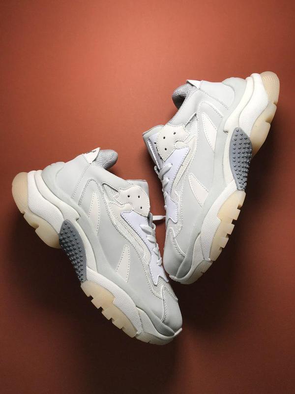 Шикарные женские кроссовки ash addict sneakers pink white 😍 (в...
