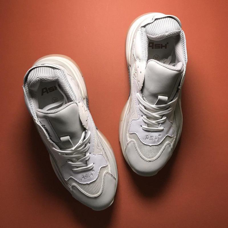 Шикарные женские кроссовки ash addict sneakers pink white 😍 (в... - Фото 7
